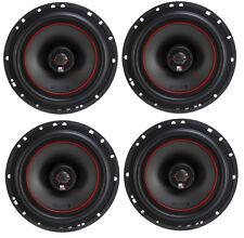 4) MB Quart X-Line 80 Watt 6.5 Inch Coaxial Car Audio Speakers Pair | XK1-116