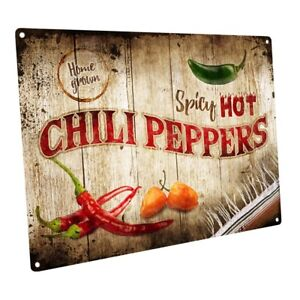Y Hot Chili Peppers Metal Sign