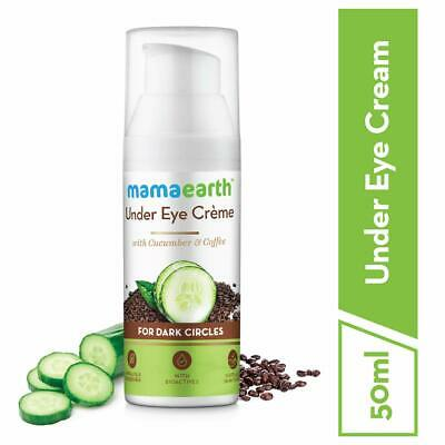 Mamaearth Natural Under Eye Cream Dark Circles Wrinkle With