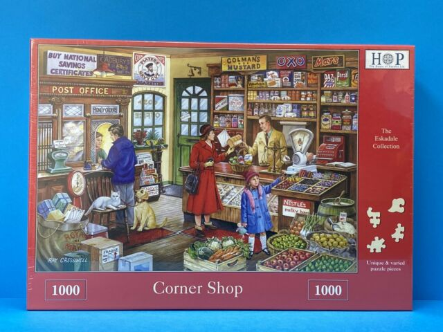 Corner 1000 Piece Jigsaw Puzzle