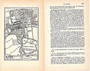 72 La Flèche + Env. 1912 Plan Ville Orig. + Guide (8 P.) Le-lude Château-gontier Lfb7qm9s-07214053-508895870