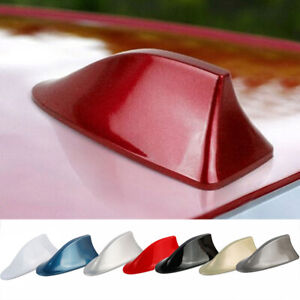 Universal-Double-Sided-Tape-Car-Shark-Fin-Antenna-With-Receiver-Chip-Fashion