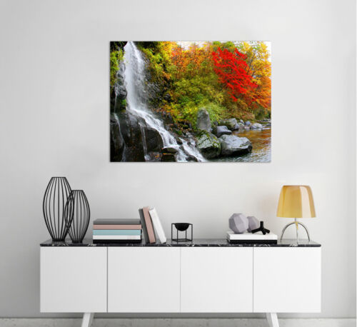 Details about  /3D Waterfall Nature Wall Stickers Vinyl Murals Wall Print Deco Art AJSTORE UK