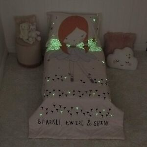 Everything Kids Fairy - Glow in the Dark 2 Piece Toddler Bedding - See Details