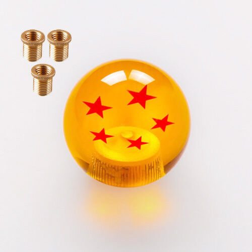 Rare Gear SHIFT KNOB DRAGONBALL Z DRAGON BALL 5 Star 10*1.5 adapters For Mazda