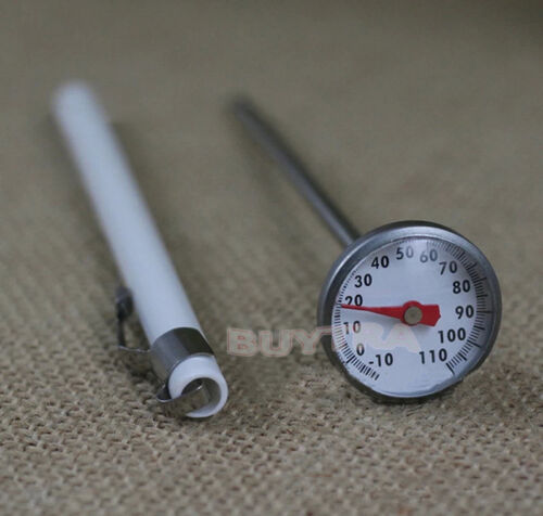 New Stainless Steel Instant Read Probe Thermometer Food BBQ Cooking Meat Ga