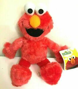 New Sesame Street Elmo Large 14 inch Plush Red Soft Toy. Licensed