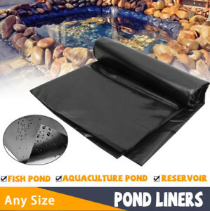 Any-Size-Fish-Pond-Liner-Gardens-Pools-PVC-Membrane-Reinforced-Landscaping