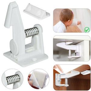 10//50X Kindersicherung Baby Sicherheit Schrank Schublade Schrankschloss Schutz