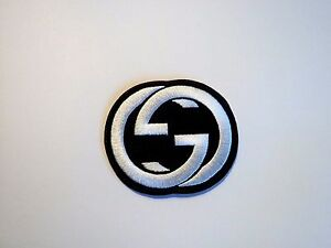 1x Gucci Logo Patch Embroidered Cloth Applique Badge Patches Iron Sew On 1 | EBay