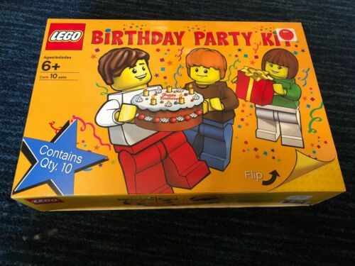 NEW LEGO Birthday Party Kit #852998 Materials for 10