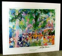 Hand Signed LeRoy Neiman: Tavern on the Green Lot 2034304