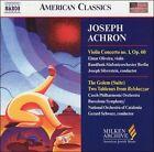 Joseph Achron: Violin Concerto No. 1, Op. 60; Golem (Suite); Two Tableaux from Belshazzar (CD, Nov-2004, Naxos (Distributor))