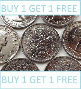 Lucky-silver-sixpences-commande-1-obtenez-1-gratuit-avec-envoi-gratuit-choix-de-date