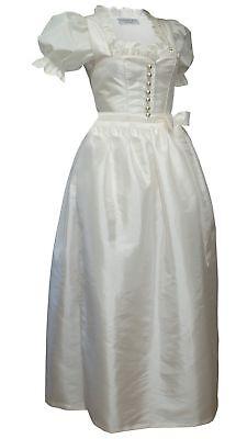 Hochzeitskleid Dirndl Brautkleid + Bluse Brautdirndl Braut-dirndl Hochzeit Creme Kataloge Werden Auf Anfrage Verschickt