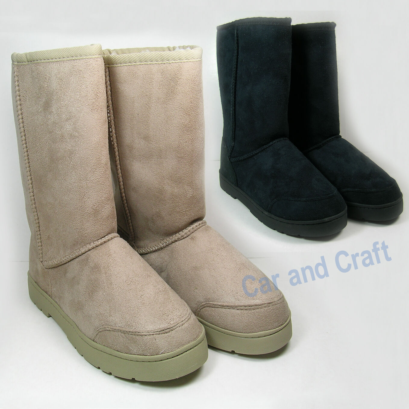 Genuine NOW Microsuede Indoor Slipper Shoes Boot Style Lady Australia Booties