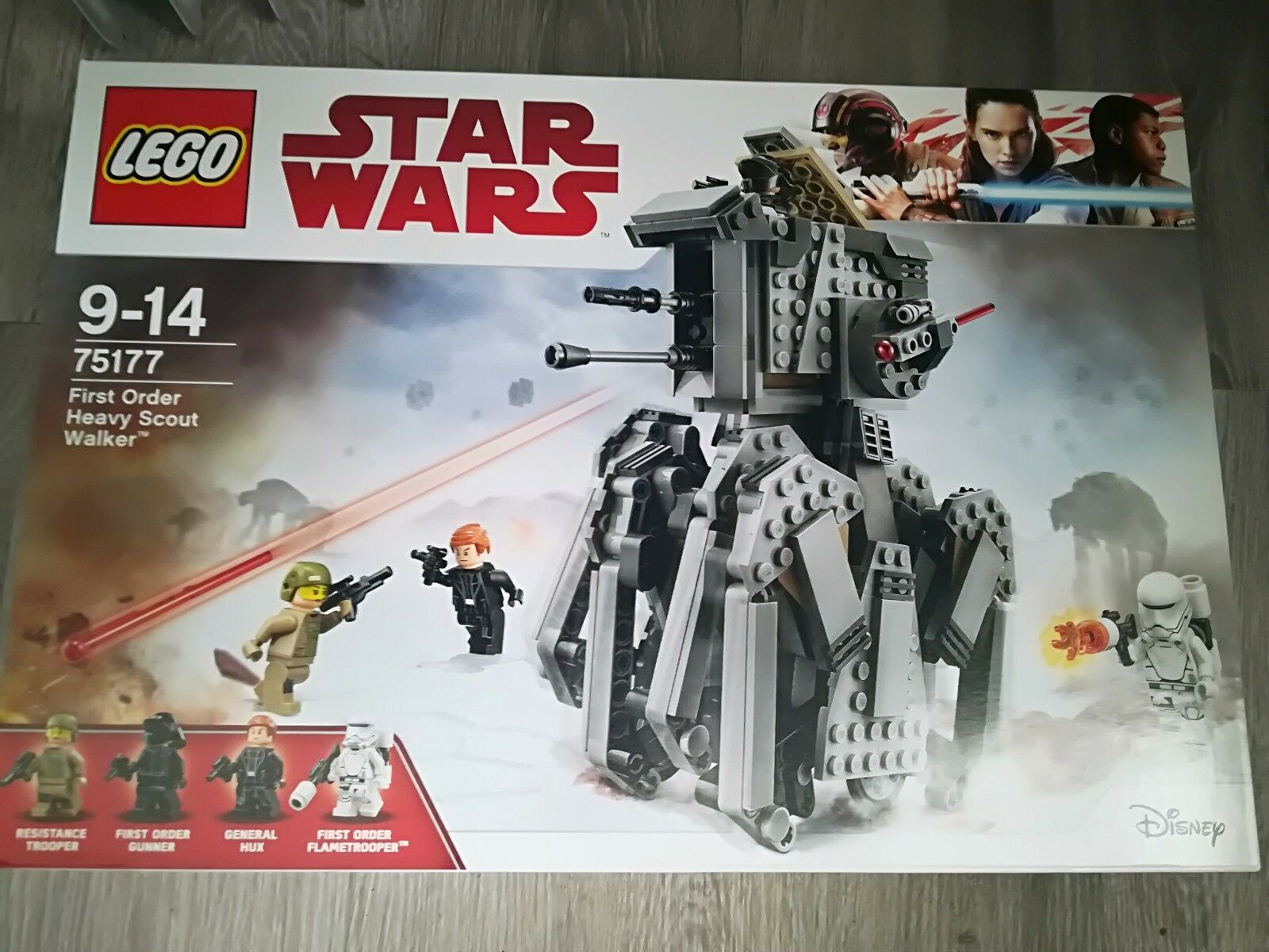 LEGO Star Wars 75177 - First Order Heavy Scout Walker  - Neuf Scellé