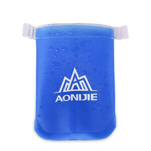 AONIJIE-BICCHIERE-ECO-TAZZA-FLASK-170-ml-PIEGHEVOLE-TRAIL-RUNNING-CORSA-ECOTAZZA