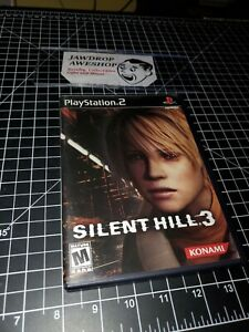 SILENT-HILL-3-PS2-COMPLETE-DISC-CASE-MANUAL-SOUNDTRACK-TESTED-WORKING-MINOR-WEAR