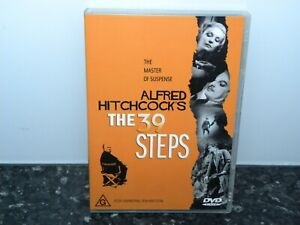 Alfred-Hitchcock-039-s-The-39-Steps-DVD-REGION-4