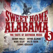 CD Sweet Home Alabama 5  Great Southern Rock von Various Artists 2CDs