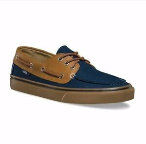 Surf 7 new Vans Chauffer Shoes gum Black Hombres Washed 5 With Tags Vans zPwdqPr