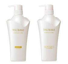 Tsubaki SHISEIDO JAPAN Damage Care Shampoo 500ml&Conditioner 500ml With Tsubaki