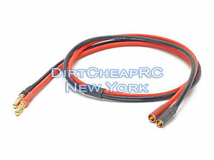 DC-Power-Cable-Extension-2ft-14AWG-4mm-Male-to-Female-Bullet-Banana-LiPo-Charger