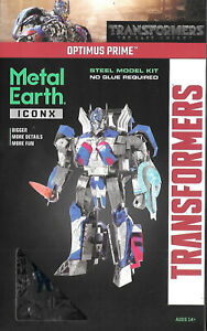 Iconx Optimus Prime Metal Earth