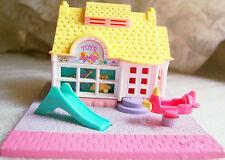 Vintage Polly Pocket Toy Shop complete set w dolls  Bluebird Toys