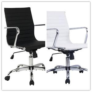 PU Taburete silla de oficina giratorio ajustable plegable ergonómica ...