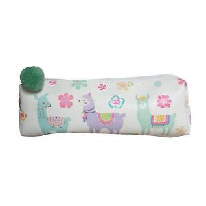 2a15c4502887 Details about Llama Bag With Pom Pom Multi Purpose Pouch Pencil Case Fun  Gift Idea