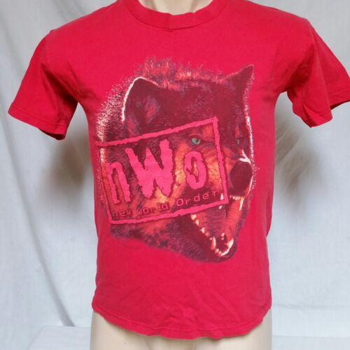 VTG 1998 NWO Wrestling T Shirt 90s Wolfpac WWE Sti