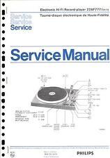 Philips Original Service Manual für 22 AF 777