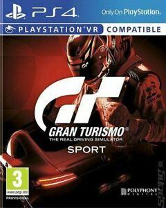 GRAN TURISMO SPORT (PS4) condizioni eccellenti-consegna super veloce