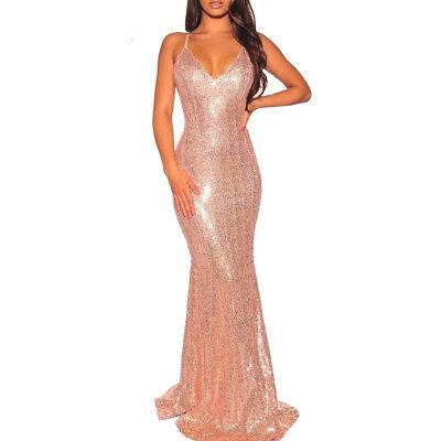 Vestidos Largos De Fiesta Elegantes Ropa Moda Para Mujer Quinces Maxi Prom Bodas Ebay