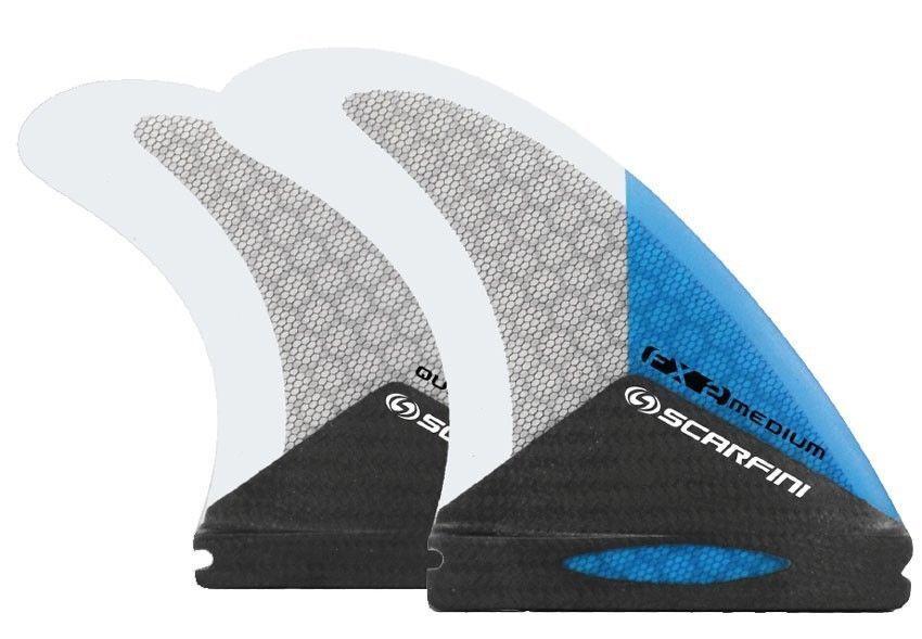 SCochefini Aletas-FX2-Quad (futuro) - Azul-Medium-Surf-Nuevo