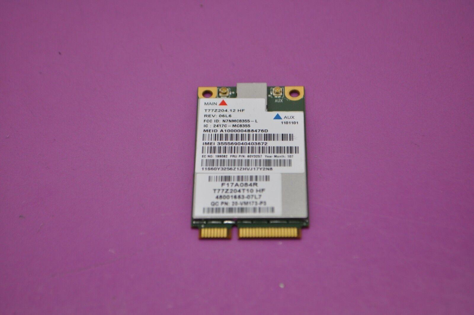 Lenovo ThinkPad T430s Sierra WWAN 64 BIT