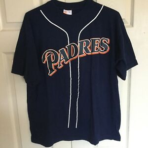 competitive price 4ad97 b1fb8 Details about Vintage San Diego Padres #21 Ken Caminiti Baseball Jersey Tee  Shirt XL Giveaway
