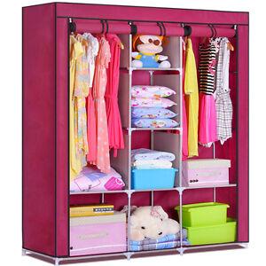 Ti- Folding Wardrobe Cupboard Almirah-Xi- Mrn