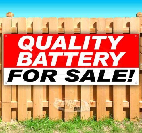 QUALITY BATTERY FOR SALE Advertising Vinyl Banner Flag Sign Many Sizes