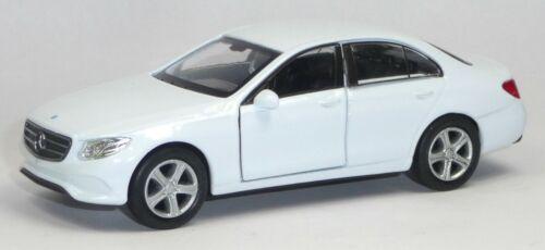 12cm mercancía nueva de Welly Mercedes benz clase e 2016 blanco modelo de coleccionista aprox