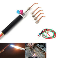 Mini Gas Little Torch Jewelry Jewelers Welding Soldering Cutting Set W/ 5 Tips