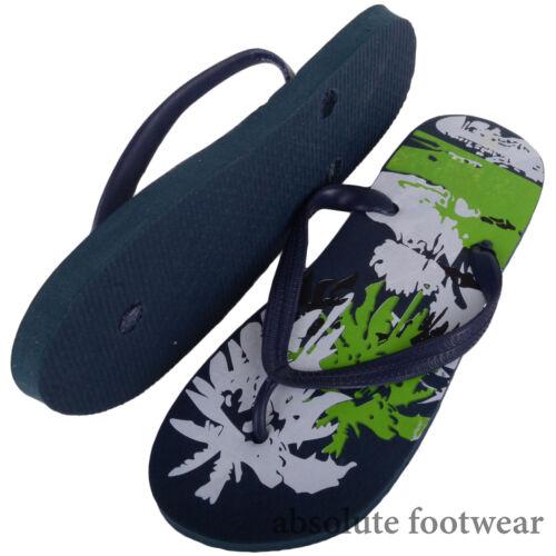 Hommes//Gents Holiday//été piscine plage sandales//chaussures//Flip Flips Toe Post