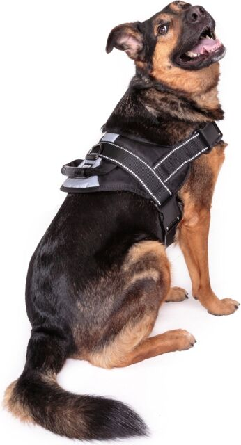 s l640 friends forever big dog reflective no pull harness with handle large