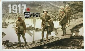 2017-AUSTRALIA-STAMP-PACK-039-1917-CENTENARY-OF-WW1-039-MNH-STAMPS-amp-MINI-SHEET