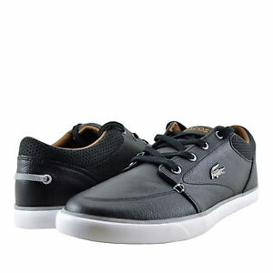 9d7e92149c1 Image is loading Mens-Shoe-Lacoste-Bayliss-Vulc-317-Leather-Sneaker-