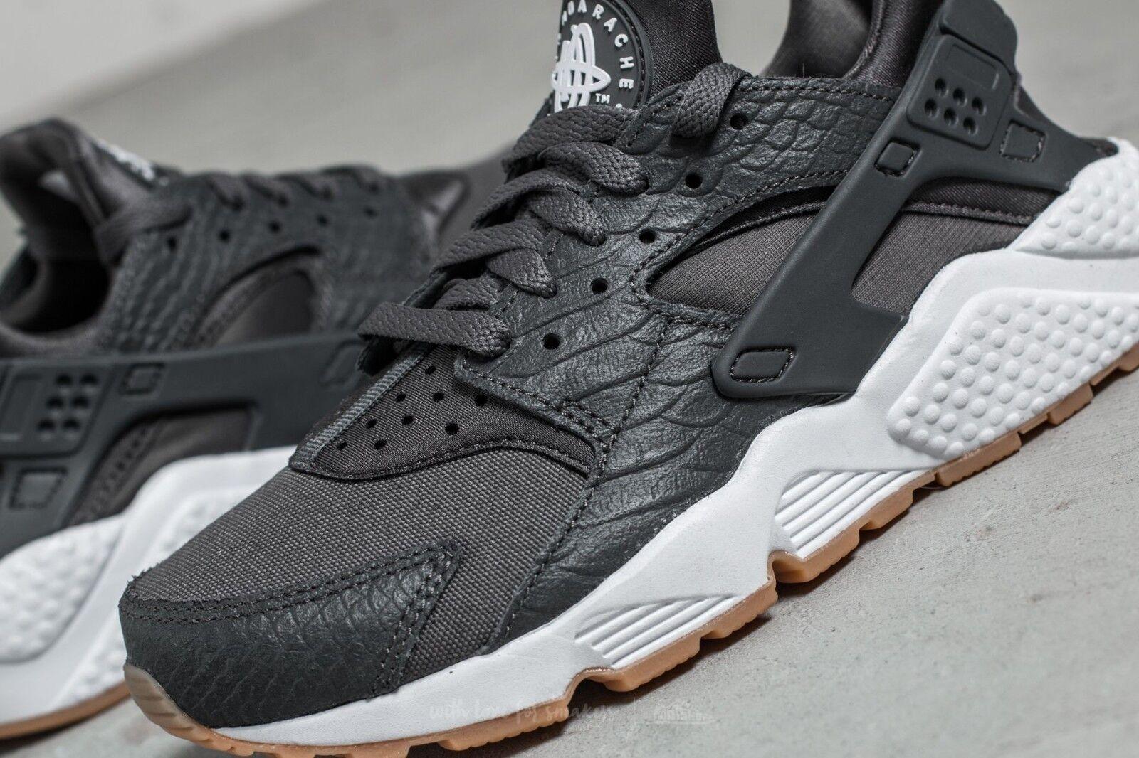 Nike Air Huarache Run se se se para mujer Talla 4.5 EUR 38 (859429 006) gris Oscuro blancoo Gum  ventas directas de fábrica
