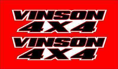 Vinson 4x4 Green Gas Tank Graphics Decal Sticker Atv Quad 500 Lt F500F LTF 500f