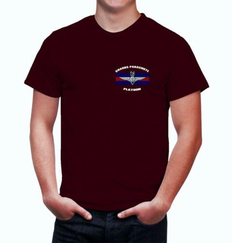 Gardes Parachute peloton tshirt gardes para Polo Shirt